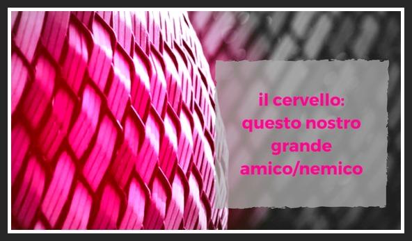 Il CERVELLO: QUESTO NOSTRO GRANDE AMICO/NEMICO